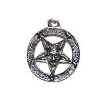 Pentagram hangertje 'Satan'