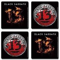 Black Sabbath cadeau set onderzetters - 13