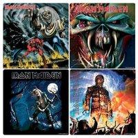 Iron Maiden cadeau set onderzetters