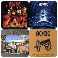 AC/DC onderzetters cadeau set