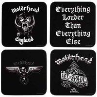 Motorhead onderzetters cadeau set