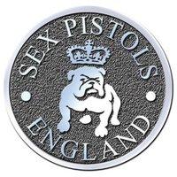 Sex Pistols speldje Bulldog