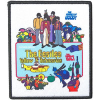 The Beatles patch Yellow Submarine movie poster