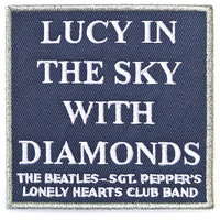 The Beatles patch Lucy in The Sky With Diamonds