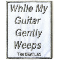 The Beatles patch While My Guitar Gently Weeps