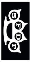 Five Finger Death Punch strandlaken Logo