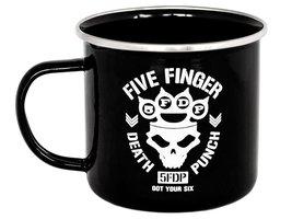 Five Finger Death Punch metalen beker Got Your Six