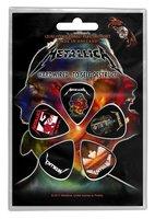 Metallica plectrum set Hardwired to Self Destruct