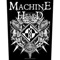 Machine Head back patch - Crest (2019)