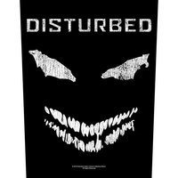 Disturbed back patch - Face