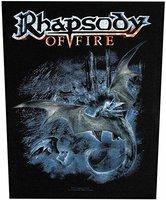 Rhapsody Of Fire back patch - Black Dragon