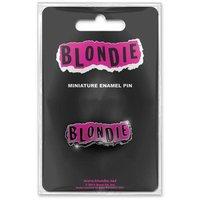 Blondie mini pin