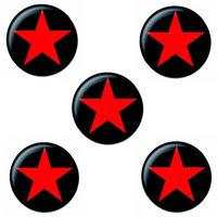 Rode Ster button set