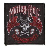 Motley Crue patch - Too Fast For Love