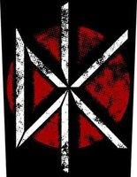 Dead Kennedys back patch - Vintage DK Logo