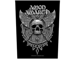 Amon Amarth back patch - Skull & Axes