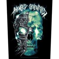 Avenged Sevenfold back patch - Mechanical Skull