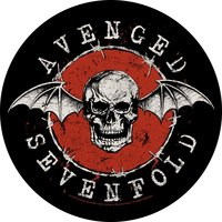 Avenged Sevenfold back patch - Distressed Skull