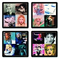 Madonna onderzetters cadeau set
