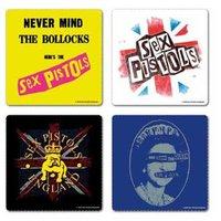 Sex Pistols onderzetters cadeau set