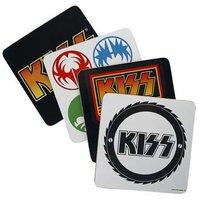 Kiss cadeau set onderzetters