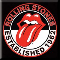 The Rolling Stones magneet - Established 1962