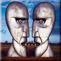 Pink Floyd magneet - Division Bell Metal Heads
