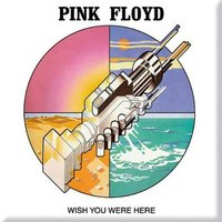 Pink Floyd magneet - Wish you were here - graphics
