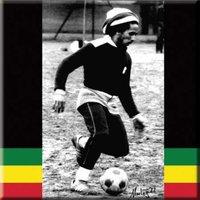 Bob Marley magneet - Voetbal