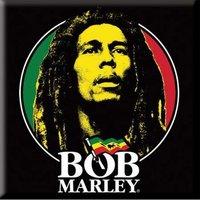 Bob Marley magneet - Face Logo