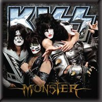 Kiss magneet - Monster