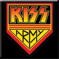 Kiss magneet - Army