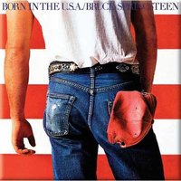 Bruce Springsteen magneet - Born in the USA