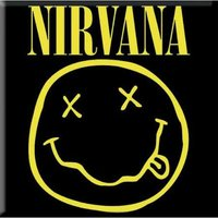 Nirvana magneet - Smiley face