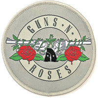Guns N Roses patch - Silver Circle Logo