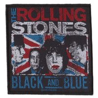 The Rolling Stones patch 'Black and Blue'