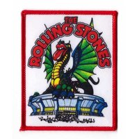 The Rolling Stones patch 'draak'