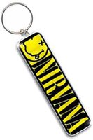 Nirvana sleutelhanger - Smiley Logo