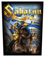 Sabaton back patch 'Carolus Rex'