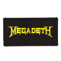 Megadeth patch - Logo
