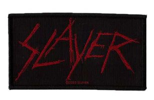 Slayer patch 'Scratched Logo'