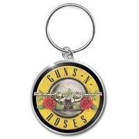 Guns N' Roses sleutelhanger 'Bullet logo'