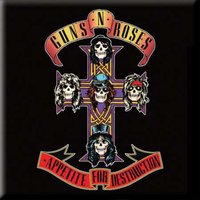 Guns N Roses magneet - Appetite for Destruction