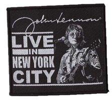 John Lennon patch - Live in New York City