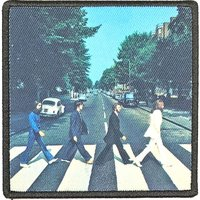 The Beatles opstrijk patch 'Abbey Road'