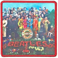The Beatles opstrijk patch 'Sgt Peppers'