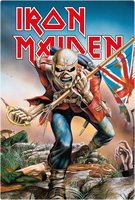 Iron Maiden metal sign The Trooper