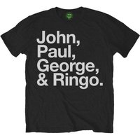 The Beatles T-Shirt - John, Paul, George and Ringo