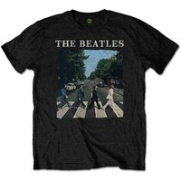 The Beatles T-Shirt - Abbey Road & Logo