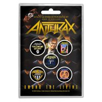 Anthrax button set - Among the Living